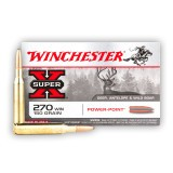 Winchester Super-X 270 150 Grain PP - 20 Rounds