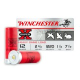 "Winchester Super-X 12 Gauge 2-3/4"" 1-1/4 oz. #7-1/2 – 25 Rounds"