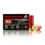 "Winchester AA Xtra-Lite Target 12 Gauge 2-3/4"" 1 oz. #8-1/2 – 25 Rounds"