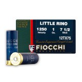 "Fiocchi Little Rino 12 Gauge 2-3/4"" 1 oz. #7-1/2 – 25 Rounds"
