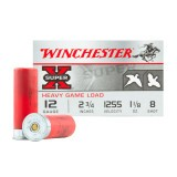 "Winchester Super-X Upland Heavy Game Loads 12 Gauge 2-3/4"" 1-1/8 oz. #8 – 25 Rounds"