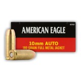 Federal American Eagle 10mm Auto 180 Grain FMJ - 50 Rounds
