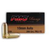 PMC 10mm Auto 200 Grain FMJ-TC - 50 Rounds