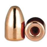 "Berry's 9mm/.38 Super (.356"" Diameter) Bullets 124 Grain Hollow Base Round Nose - 1000 Projectiles"