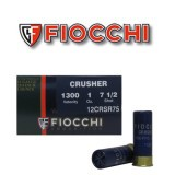 "Fiocchi Crusher 2-3/4"" 1 Ounces #7.5 Shot 12 Guage - 25 Rounds"