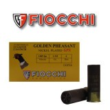 "Fiocchi Golden Pheasant Nickel Plated GPX 12 Gauge 2-3/4"" 1-3/8 oz. #6 – 25 Rounds"