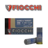 "Fiocchi Game & Target 12 Gauge 2 3/4"" 1/1/8 oz. #7 1/2 – 250 Rounds"