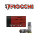 "25rds - 12 Gauge Fiocchi Target Shooting Dynamics 2 3/4"" 1 1/8oz. #7 1/2 Shot Ammo"