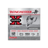"Winchester Super-X Waterfowl 12 Gauge 2-3/4"" 1-1/16 oz. #3 – 25 Rounds"