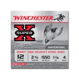 "Winchester Super-X Waterfowl 12 Gauge 2-3/4"" 1-1/16 oz. #4 – 25 Rounds"