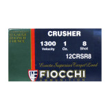 "Fiocchi Crusher 12 ga - 2-3/4"" 1 oz #8 Lead Shot - 250 Rounds"