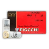 "Fiocchi 12 Gauge 2-3/4"" 1 oz. #8 – 25 Rounds"