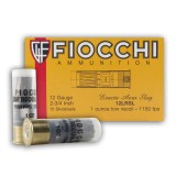"Fiocchi 2-3/4"" 1 oz Low Recoil Rifled Slug 12 Gauge - 10 Rounds"