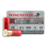 "Winchester Super-X 9 Pellets 12 Gauge 2-3/4"" 00 Buck – 15 Rounds"