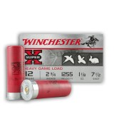 "Winchester Super-X Game Load 12 Gauge 2-3/4"" 1-1/8 Ounces #7-1/2 - 25 Rounds"