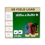 "Sellier & Bellot 12 Gauge 2-3/4"" 1 oz. #7-1/2 – 25 Rounds"