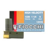 "Fiocchi Optima Specific High Velocity 12 Gauge 2-3/4"" 1-1/4 oz. #6 – 25 Rounds"