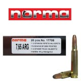 Norma 7.65x53mm Argentine 174 Grain Semi-Pointed SP - 20 Rounds
