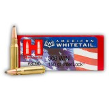 Hornady American Whitetail 308 150 Grain SP Interlock – 200 Rounds