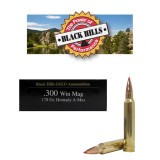 Black Hills Gold 300 Win Mag 178 Grain A-Max Polymer Tip - 20 Rounds