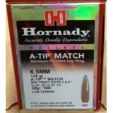 Hornady .264 Diameter Bullets - 135 Grain A-TIP Match – 100 Count