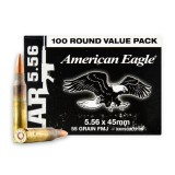 Federal 5.56x45mm 55 Grain FMJBT - 500 Rounds