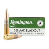 Remington 300 AAC Blackout 120 Grain FMJ - 200 Rounds