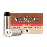 Fiocchi Cowboy Action 44-40 WCF 210 Grain LRN - 50 Rounds