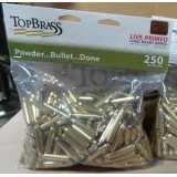 Top Brass Casings - .223 Rem - Reconditioned Primed Brass - 250