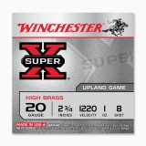 "Winchester High Brass Game Load 20 Gauge 2-3/4"" 1 oz. #8 – 25 Rounds"