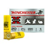"Winchester High Brass Game Load 20 Gauge 2-3/4"" 1 oz. #5 – 25 Rounds"
