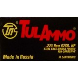 Tula 223 Rem 62 Grain HP - 1000 Rounds
