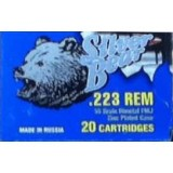 Silver Bear 223 Remington 55 Grain FMJ - 500 Rounds