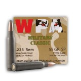 WPA Military Classic 223 Rem 55 Grain SP - 500 Rounds