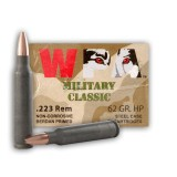Wolf WPA Military Classic 223 Rem 62gr. HP - 500 Rounds