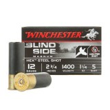 "Winchester Blind Side 12 Gauge 2-3/4"" 1-1/4 oz. #5 – 25 Rounds"