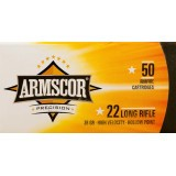 Armscor 22 LR 36 Grain HP – 50 Rounds