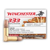 Winchester 22 LR 36 Grain CPHP - 333 Rounds