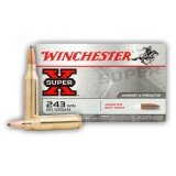 Winchester Super-X 243 80 Grain Soft Point - 20 Rounds
