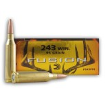 Federal 243 Winchester 95 Grain Fusion - 20 Rounds