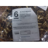 Top Brass Casings 45 ACP Reconditioned Unprimed Brass – 1000