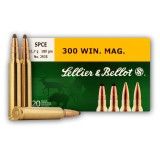Sellier & Bellot 300 Win Mag 180 Grain SPCE - 20 Rounds