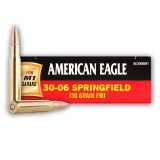 Federal American Eagle 30-06 150 Grain FMJ - 20 Rounds