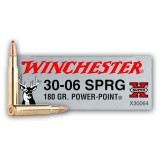 Winchester Super-X 30-06 180 Grain Power Point - 20 Rounds