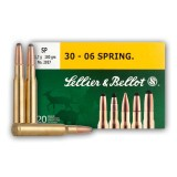 Sellier & Bellot 30-06 Springfield 180 Grain SP - 20 Rounds