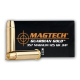 Magtech Guardian Gold 357 Mag 125 Grain JHP - 20 Rounds