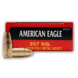 Federal American Eagle 357 Sig 125 Grain FMJ - 1000 Rounds