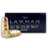 Speer Lawman Clean-Fire 357 Sig 125 Grain TMJ - 50 Rounds