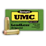 Remington UMC Leadless 38 Special 125 Grain FNEB – 50 Rounds