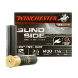 "Winchester Blind Side Waterfowl 12 Gauge 3-1/2"" 1-5/8 oz. #1 Hex Steel Shot – 25 Rounds"
